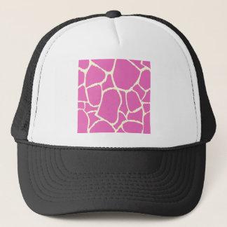 WILD SAFARI AFRICA Color Blocks PINK Trucker Hat