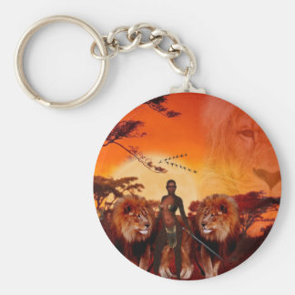 Wild Savanna Keychain