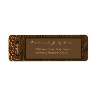 Wild Side Address Labels