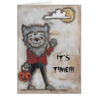 Wild Side - Halloween Card