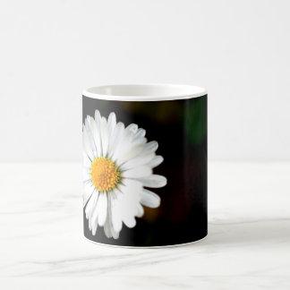 Wild Single Daisy Flower Coffee Mug