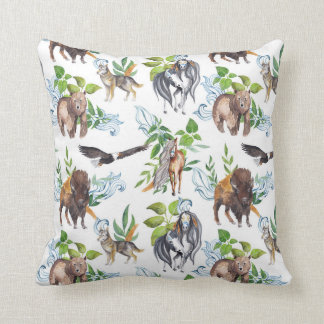 Wild Spirit Pillow