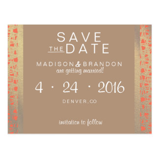 Wild Spirit Save the Date Postcard
