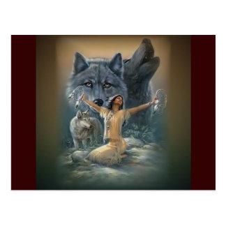 Wild Spirits Postcard