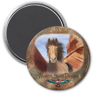 Wild Stallion Southwestern Magnet