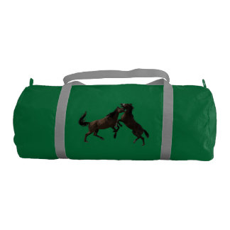 Wild Stallions of  Sand  Wash Basin Gym Bag