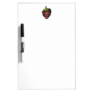Wild Strawberry Dry Erase Whiteboard