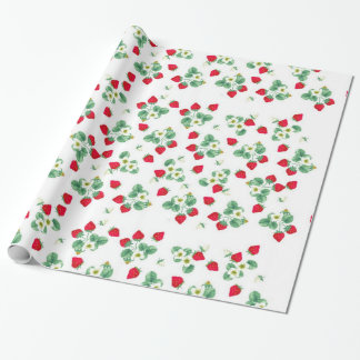 Wild Strawberry Wrapping Paper