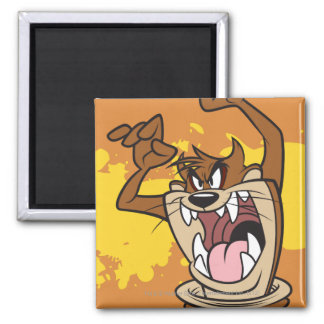 Wild TAZ™ Square Magnet