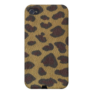 Wild Thing Leopard by Krista Orangutan iPhone 4 Covers