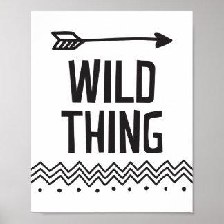 Wild Thing Poster Print
