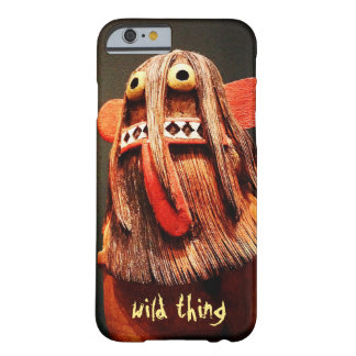 """""""Wild Thing"""" Quote Cute, Silly, Funny Face Photo Barely There iPhone 6 Case"""