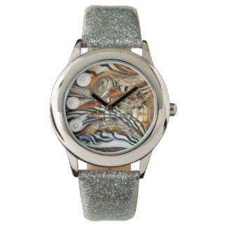 Wild tiger, animal, africa, safari, photography wrist watches