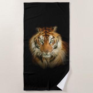 Wild Tiger Beach Towel