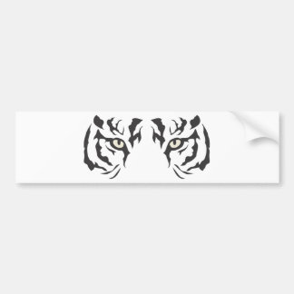 Wild Tiger Eyes Bumper Sticker