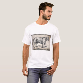 Wild Tiger Graphics Men's Tshirt