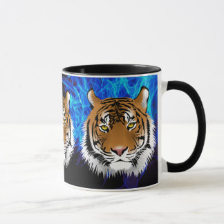 Wild Tiger on Coffee Mug