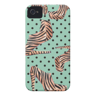 Wild Tiger Shoes iPhone 4 Covers