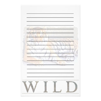 Wild Tiger Stationery