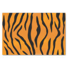 Wild Tiger Stripes Pattern Tissue Paper