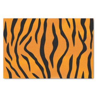Wild Tiger Stripes Pattern Tissue Paper