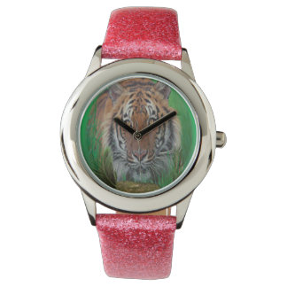 wild tiger wrist watch