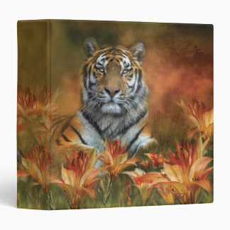 Wild Tigers Art Binder