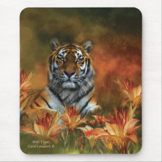 Wild Tigers Mousepad