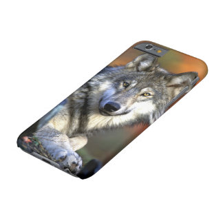 Wild Timber or Gray Wolf Barely There iPhone 6 Case