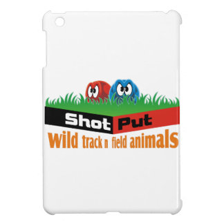 Wild track and field animals iPad mini cover