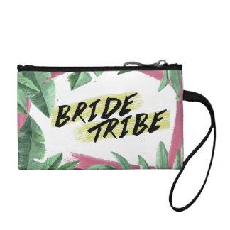 Wild Tropical Themed Bridal Shower Clutch