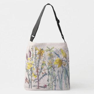 Wild Tulip Broom Wildflower Flowers Tote Bag