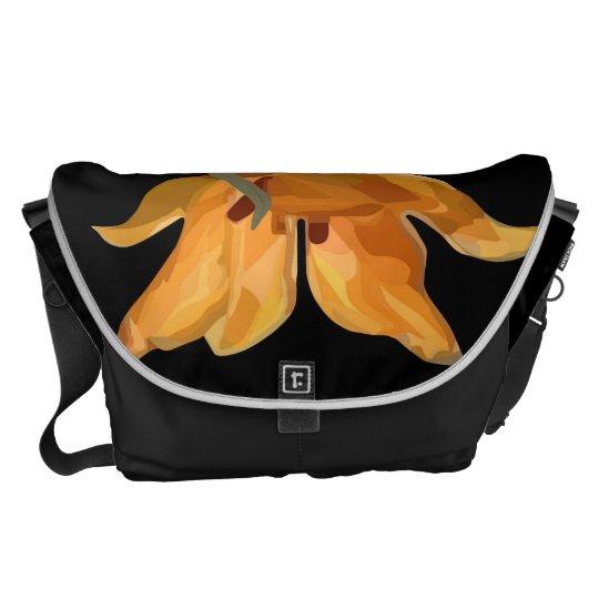 Wild tulip commuter bag