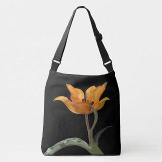 Wild tulip crossbody bag