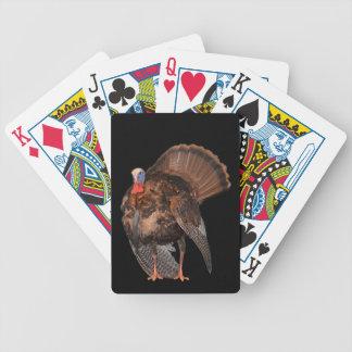 Wild Turkey (Alabama, Massachusetts, Oklahoma) Bicycle Playing Cards