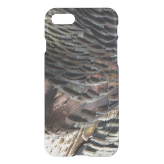 Wild Turkey Feathers I Abstract Nature Design iPhone 8/7 Case