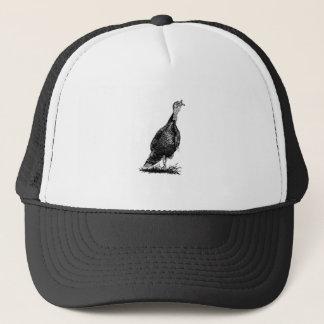 Wild Turkey (line art) Trucker Hat