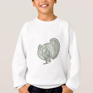 Wild Turkey Side Mono Line Sweatshirt