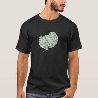 Wild Turkey Side Mono Line T-Shirt