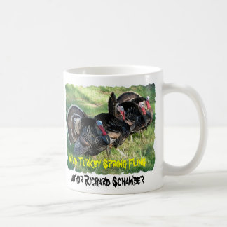 , Wild Turkey Spring Fling...turkey cup, turkey Mugs
