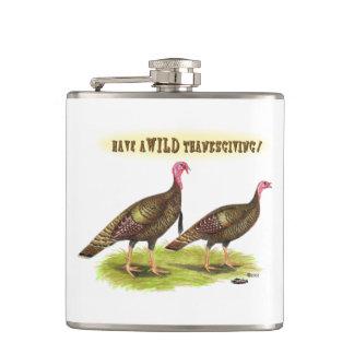 Wild Turkey Thanksgiving Hip Flask