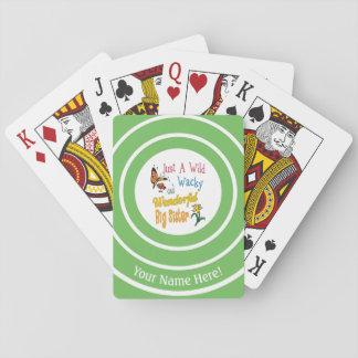 Wild Wacky Wonderful Big Sister Gifts Playing Cards