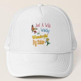Wild Wacky Wonderful Big Sister Gifts Trucker Hat