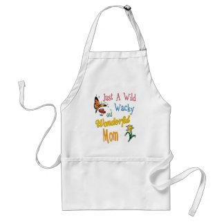 Wild Wacky Wonderful Mom Gifts Standard Apron