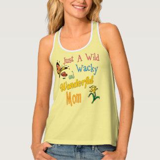 Wild Wacky Wonderful Mom Gifts Tank Top