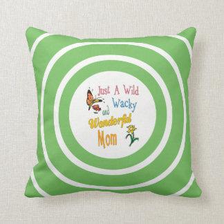 Wild Wacky Wonderful Mom Gifts Throw Pillow