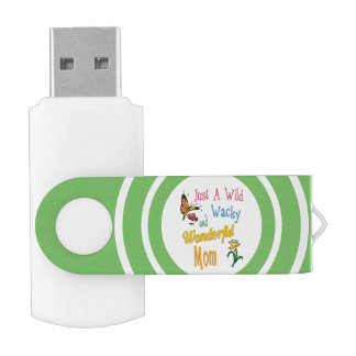 Wild Wacky Wonderful Mom Gifts USB Flash Drive