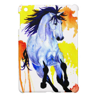 Wild Watercolor Horse iPad Mini Cases