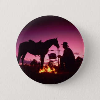Wild West Camping 2 Inch Round Button