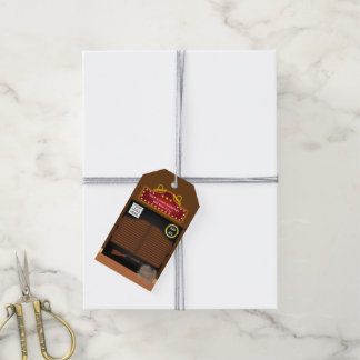 Wild West Corporate Function add photo and logo Gift Tags